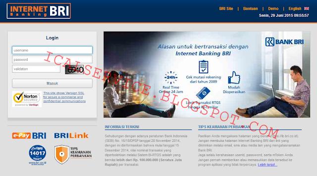 Internet Banking (IB) BRI Dengan Tampilan Barunya