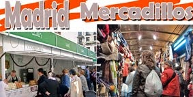 Mercadillos en Madrid