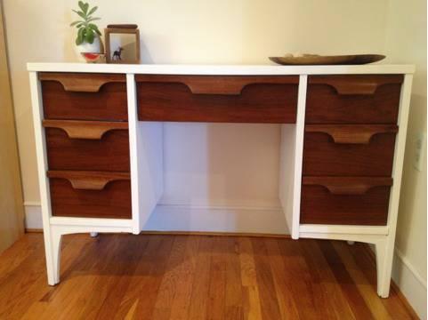 Mid Century Modern Johnson Carper Desk