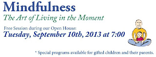 New Mindfulness for Health Programs – The Art of Living on the Moment, September 10, 2013