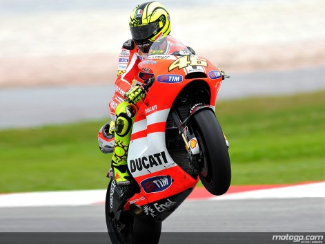 valentino rossi 2011 qatar. MotoGP 2011: Rossi confident