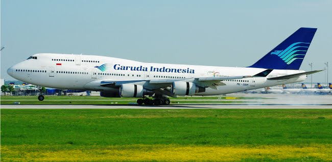 Garuda Indonesia Boeing 747-400 PK-GSH. ZonaAero