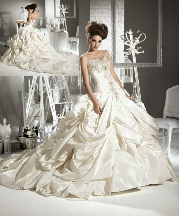 Hot Fashion Style Girl: flauschige Brautjungfernkleider 2014 ...