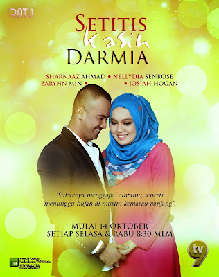 lagi satu drama gandingan Sharnaaz dan Nelydia Senrose Setitis Kasih Darmia