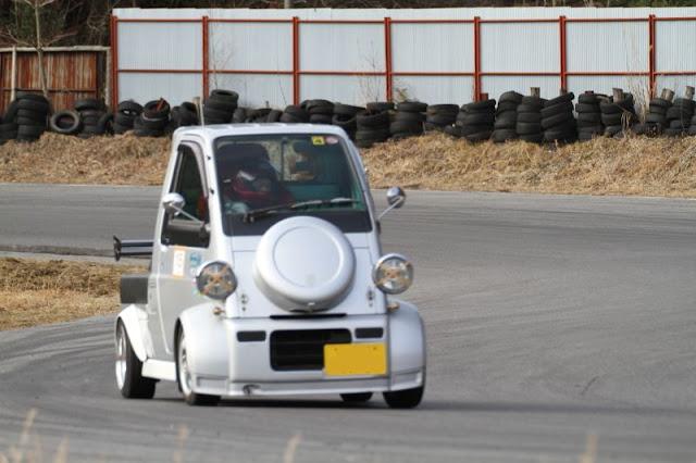Daihatsu Midget II, szalone samochody, małe auta do wyścigów, JDM