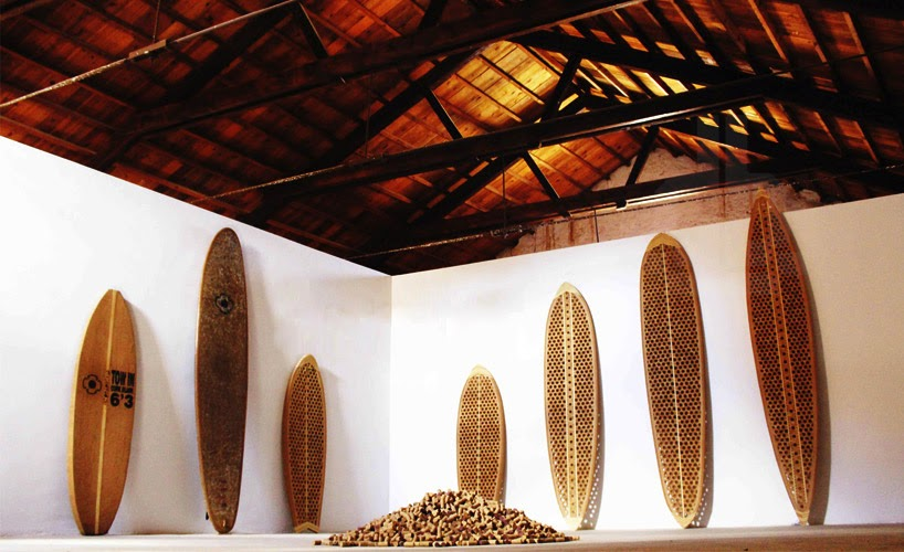 Tablas de surf con Corchos Reciclados