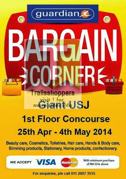 Guardian Bargain Corner Sale Giant USJ Subang Jaya