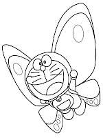 Doraemon Printable Coloring Pages