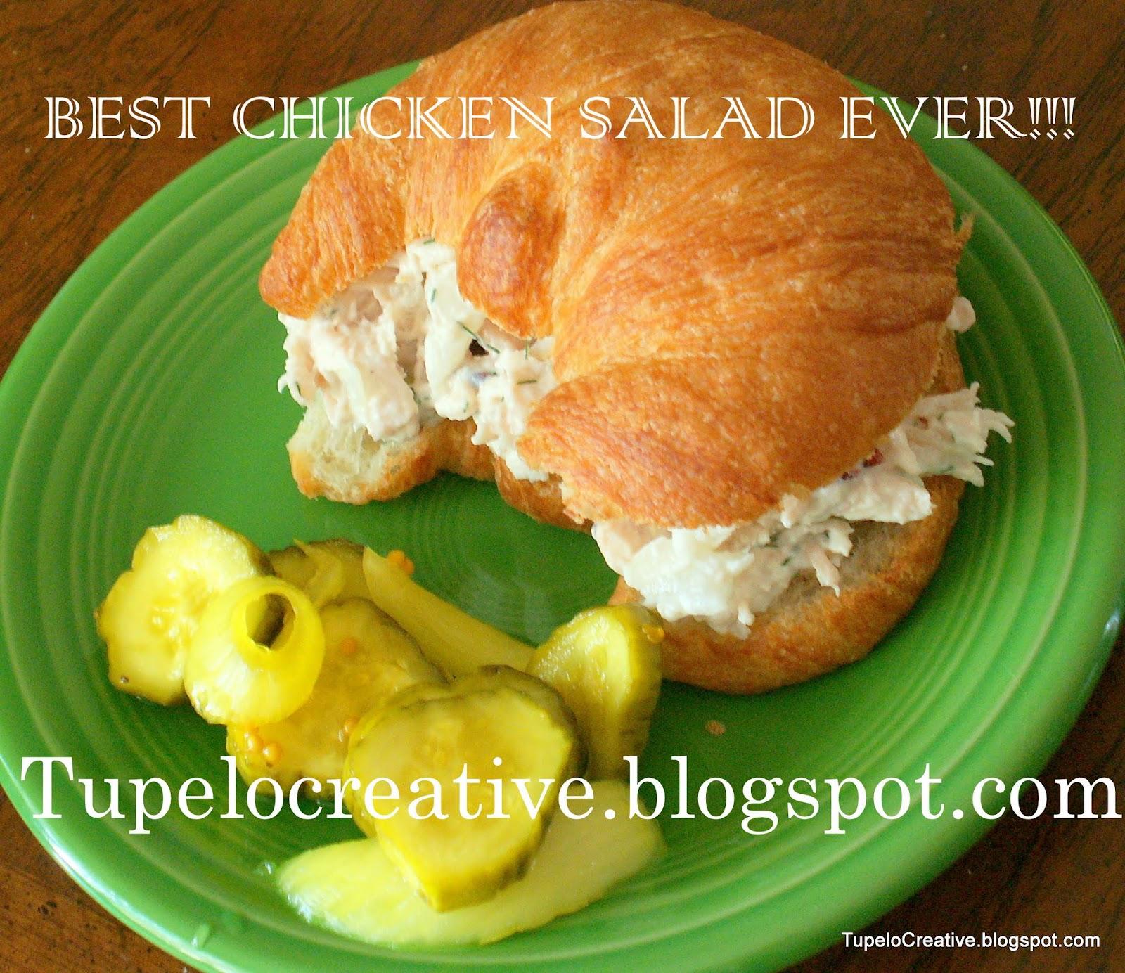 Tupelo Creative: The Best Chicken Salad Ever.
