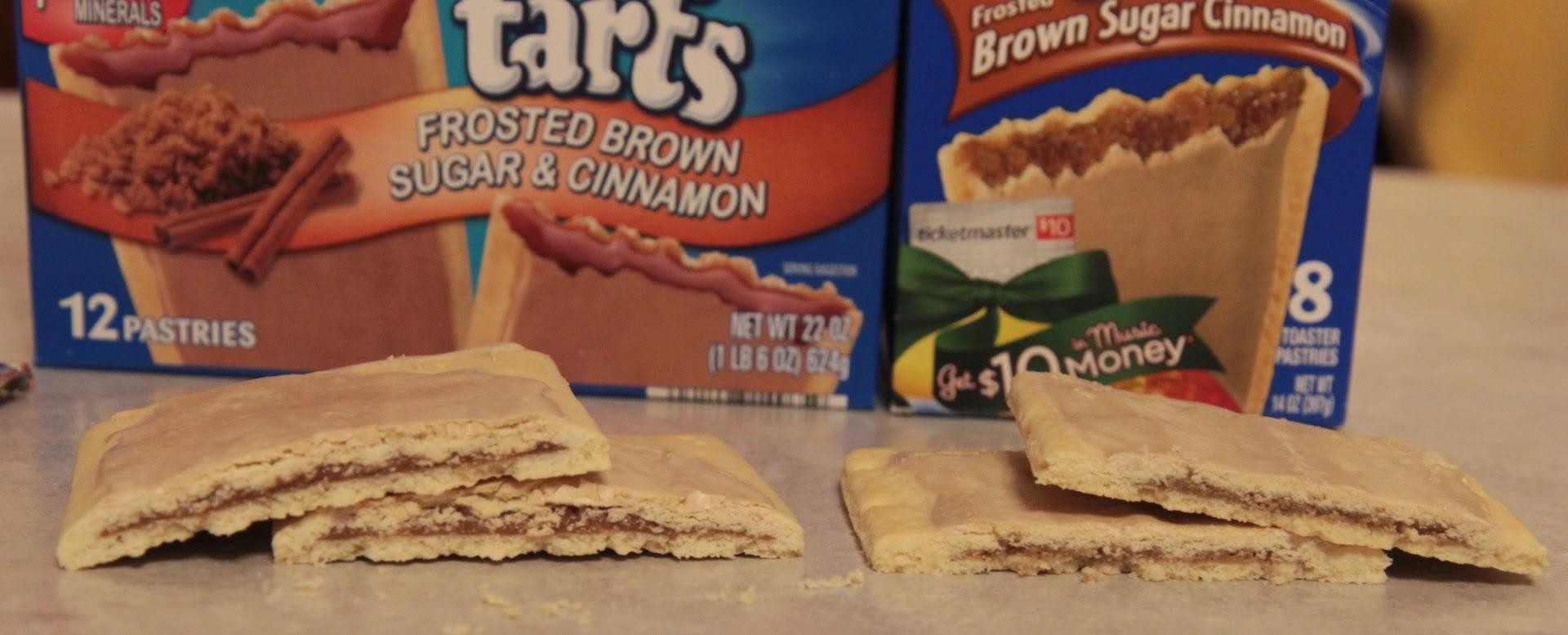 Aldi Millville Toaster Tarts vs. Kellogg's Pop Tarts Insides