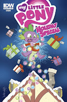 MLP Holiday Special 2015 Comic by IDW Regular Cover by Katie Cook