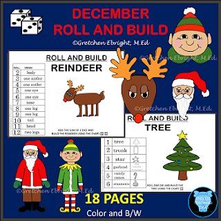 https://www.teacherspayteachers.com/Product/DECEMBER-ROLL-AND-BUILD-REINDEER-TREE-SANTA-ELF-2211970