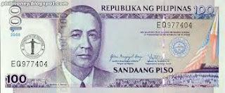 100 Peso Bill Philippines