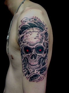 Tatuagens caveiras