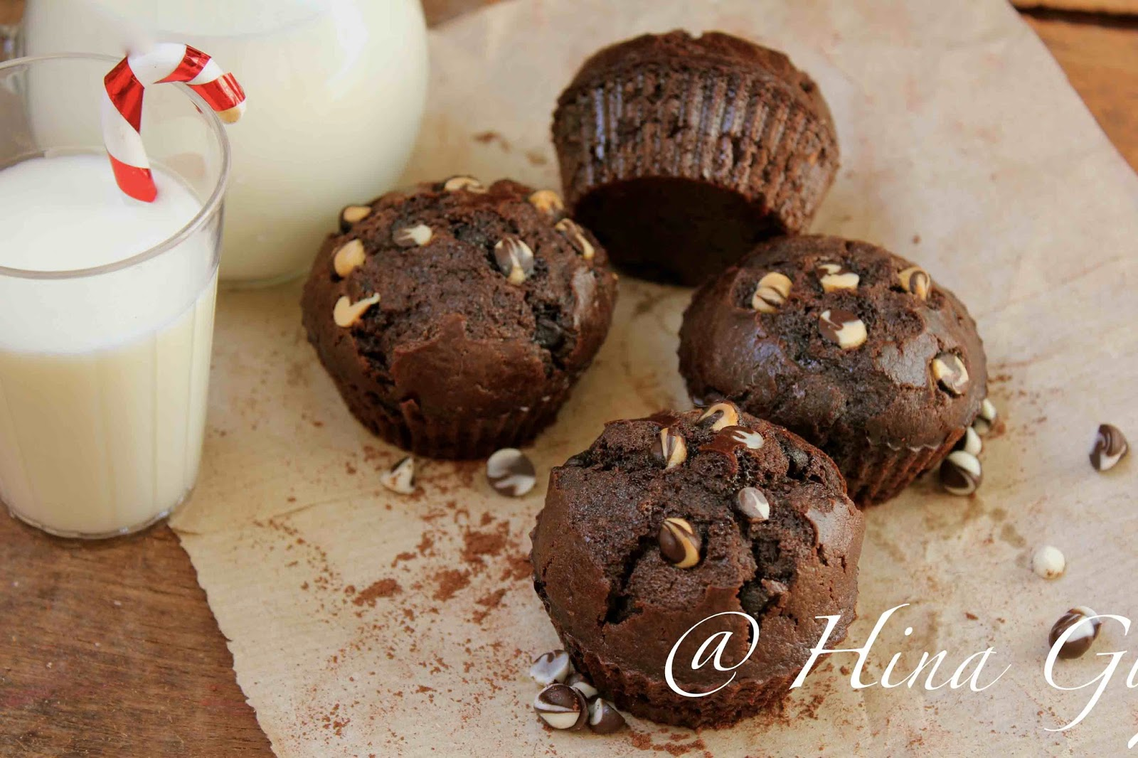 Whole Wheat Mocha Muffins Recipe