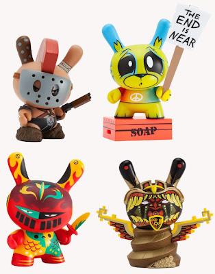 Kidrobot Apocalypse Dunny Series - Huck Gee, Joe Ledbetter, Patricio Oliver & Jesse Hernandez