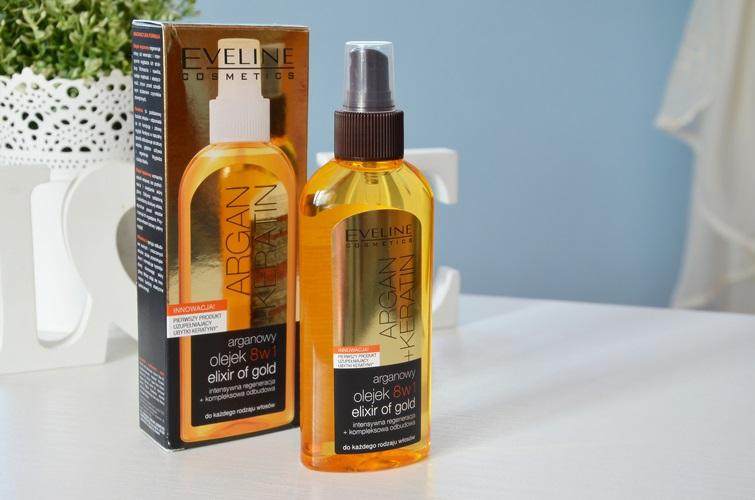Olejek do włosów 8 w 1 Eveline