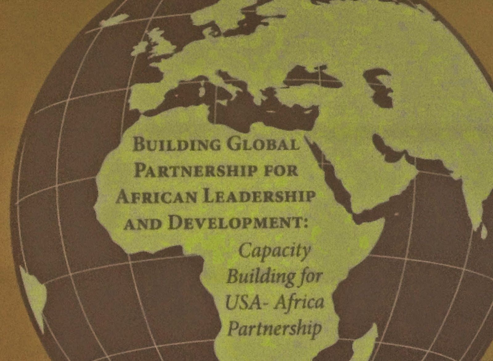 Building Global Partnership For African Leadership and Development