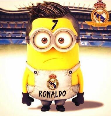 Minion de Cristiano Ronaldo en el Real Madrid