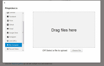 how to upload files with drag 'n drop