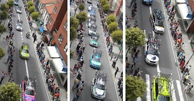 Recorrido de la Vuelta a España por Sanjurjo Badía