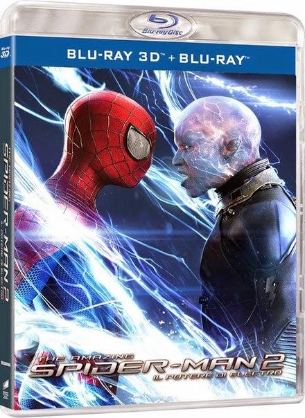 El sorprendente Hombre Araña 2: La Amenaza de Electro 3D (2014) 1080p BDRip 3D SBS 3.6GB mkv Dual Audio AC3 5.1 ch