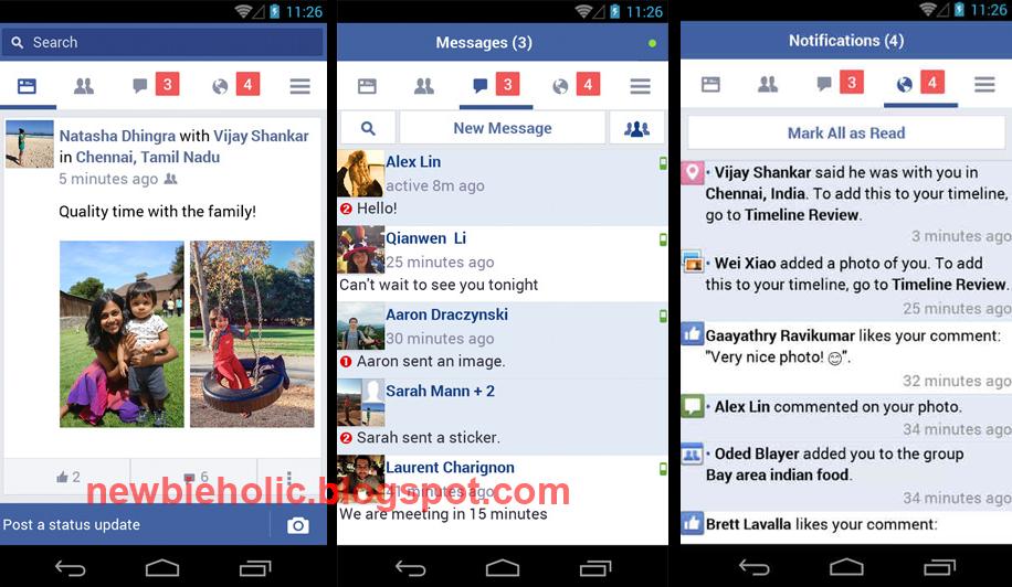 Download aplikasi facebook untuk android yang ringan