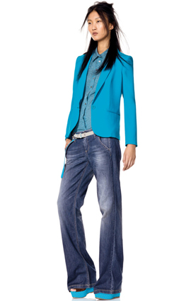 pantalones vaqueros mujer Benetton