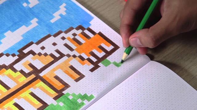 Livro de Colorir Color PXL