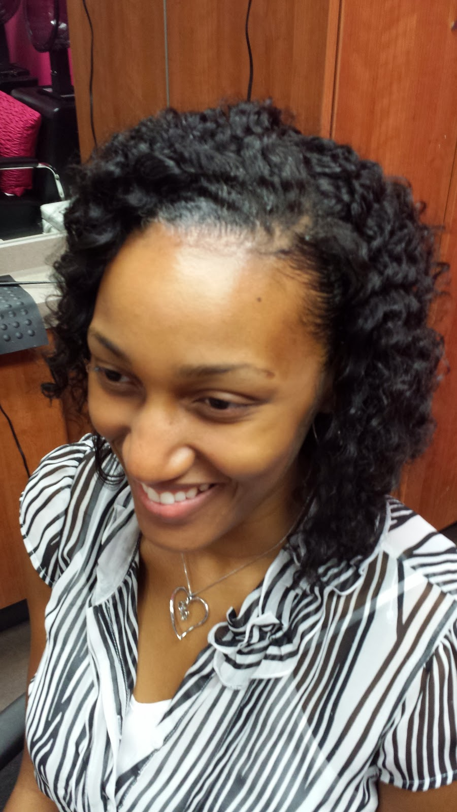 Twist Out On Natural Hair LaToya Jones - Edges hair