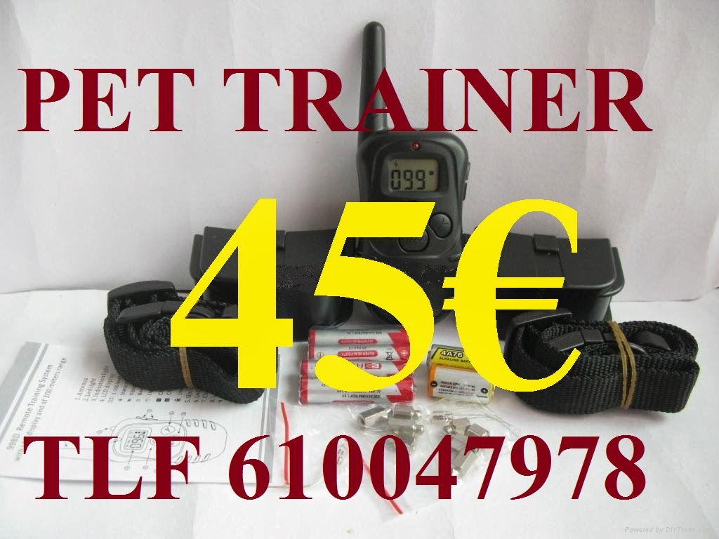 PET TRAINER Nº6 A PILAS IMPORT (DOBLE) 45€