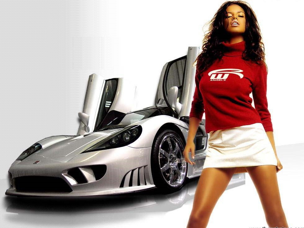 hot cars wallpapers. pictures Hot car model:girls
