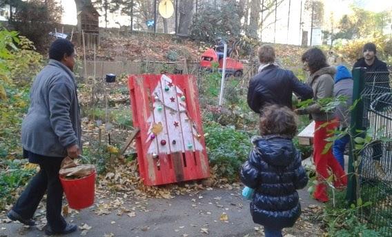 Jardin santerre 107 rue de reuilly paris 12 me le sapin Arborer son jardin
