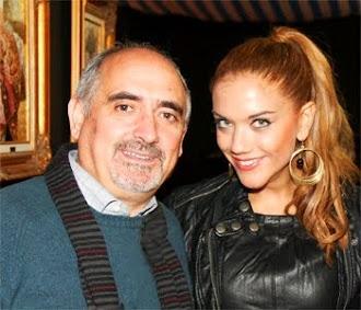 Beatriz Trapote con Franchi
