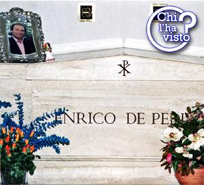 Túmulo do mafíoso Enrico de Pedis em solo santo