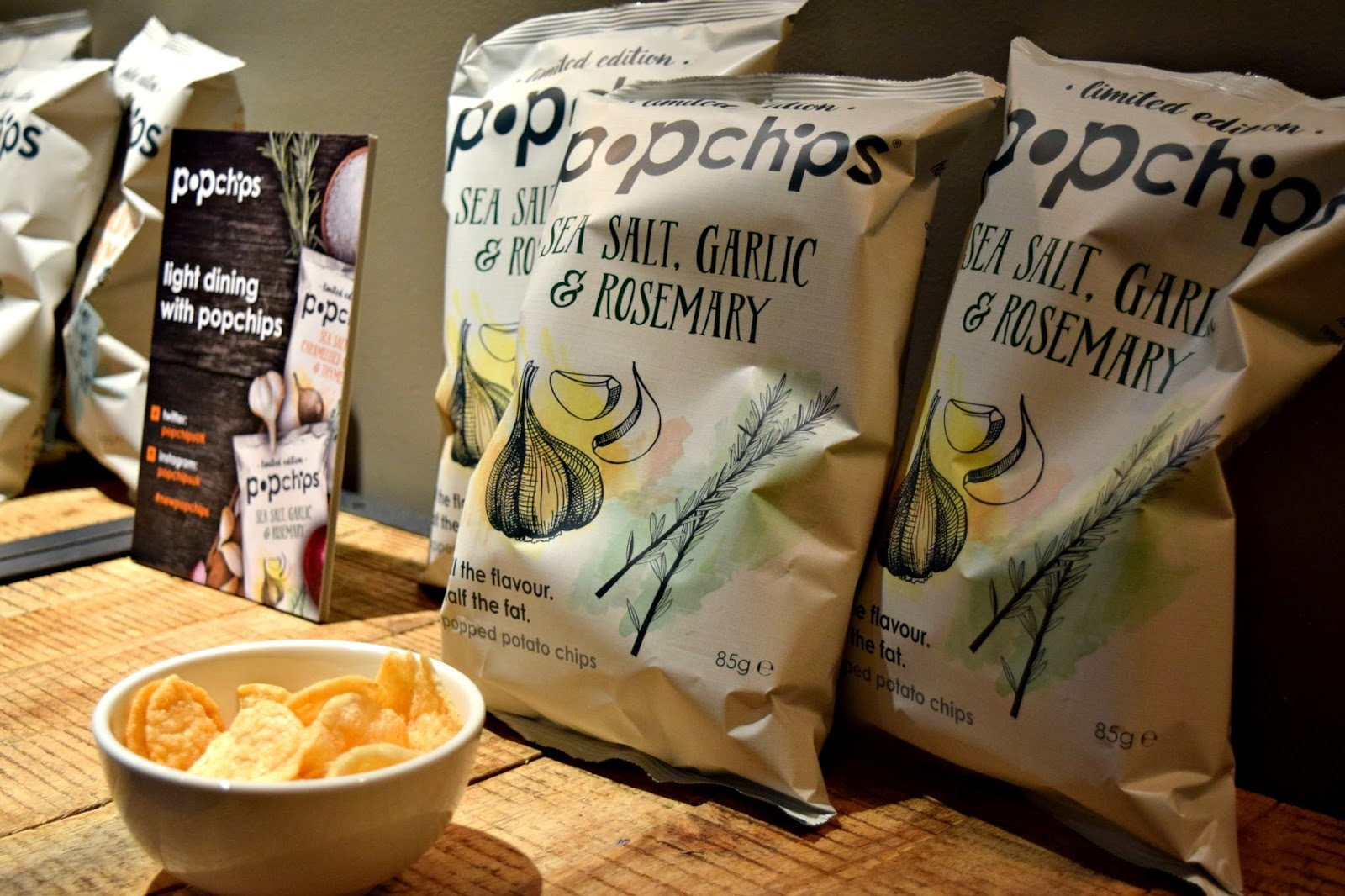 Popchips limited edition range