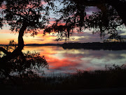 Sunset is my favorite time of day. I love the drama of the changing sky and . (gullah sunset)