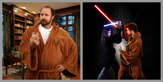 Must Have: STAR WARS Sith And Jedi Bathrobes   Alien Bee ...