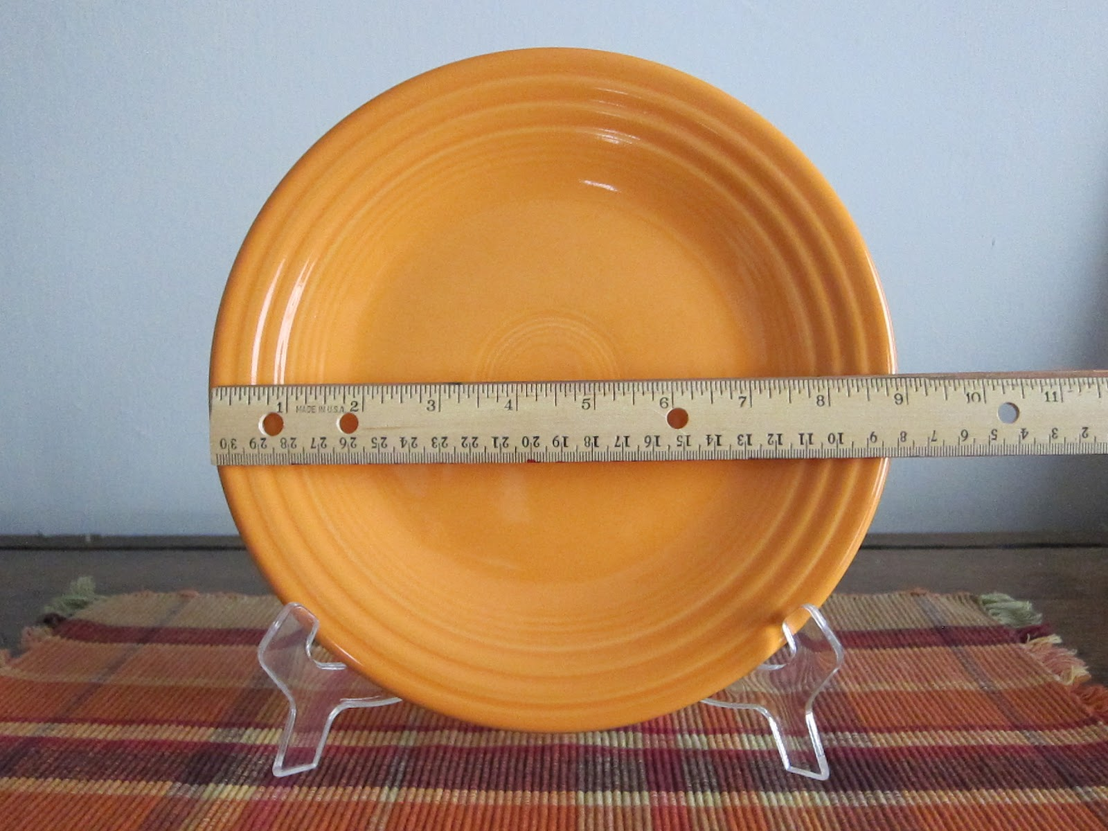 What is the 9 inch plate??? & The 9 inch plate: What is the 9 inch plate???