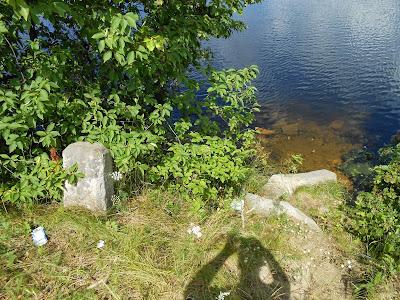 Обвалившийся каменный столб
