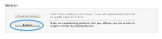 Cara Memperbaiki Error iTunes 40 Saat Restore iOS