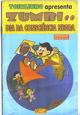 Zumbi e o Dia da Consciência Negra em quadrinhos HQ!