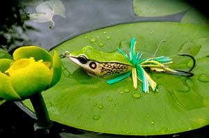 Приманка незацепляйка mystic frog