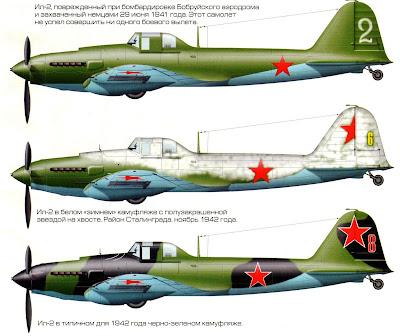 Окраска Ил-2