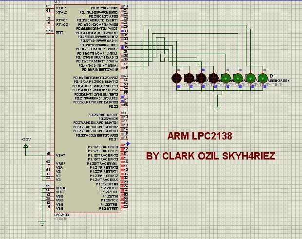 Arm arduino avr tutorial n project aplikasi led berjalan