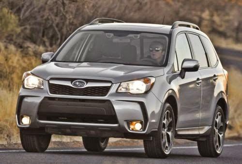 carro novo Subaru Forester 2015