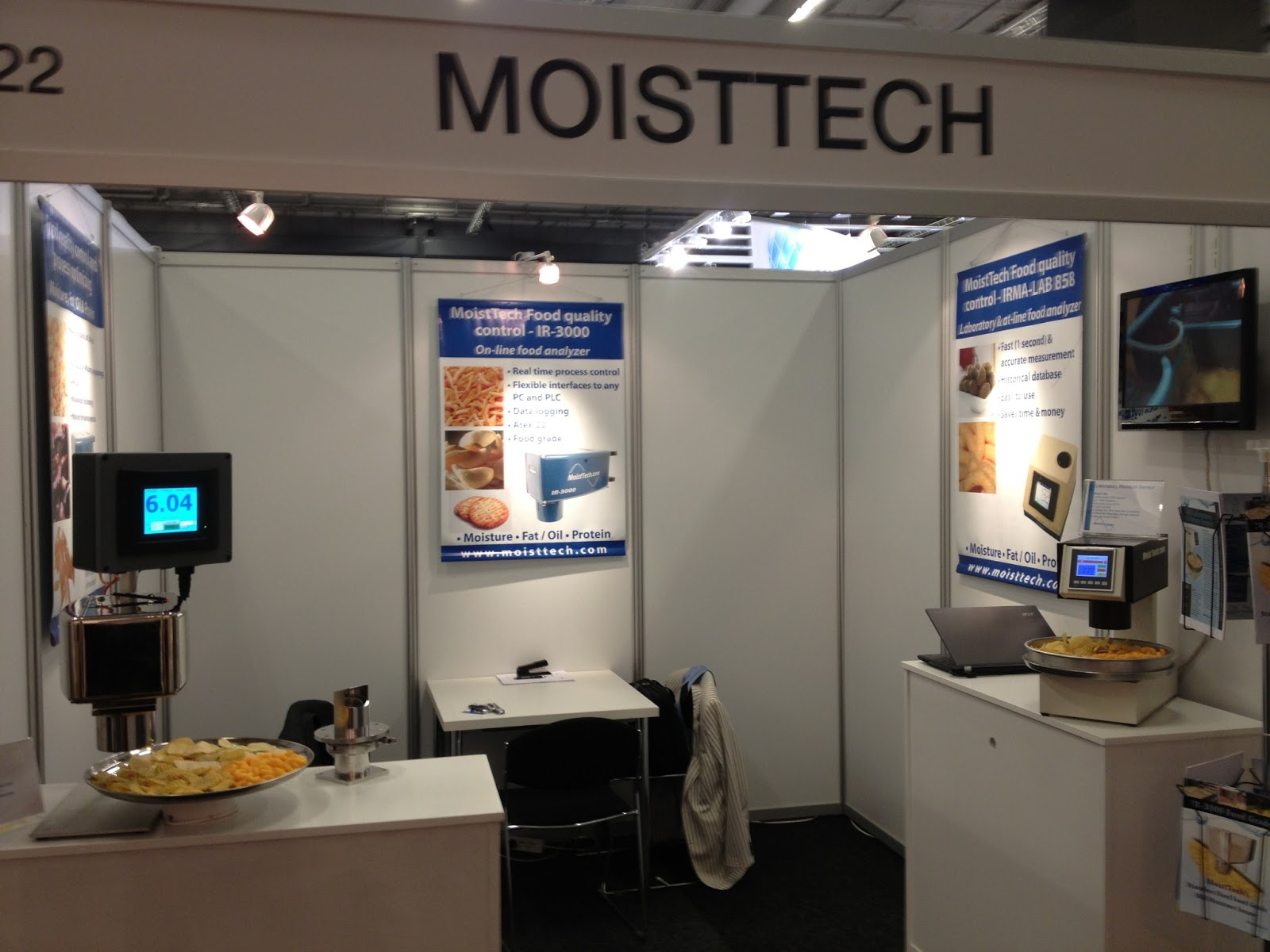 Great MoistTech Booth