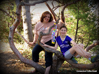 My Favorite Daughter on Homeschool Coffee Break @kympossibleblog.blogspot.com