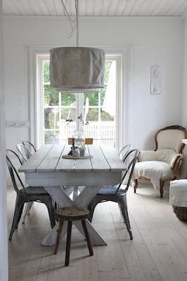 Arredamento stile shabby chic arredare interni ed esterni della casa sedie tolix vintage - Sedia tolix storia ...
