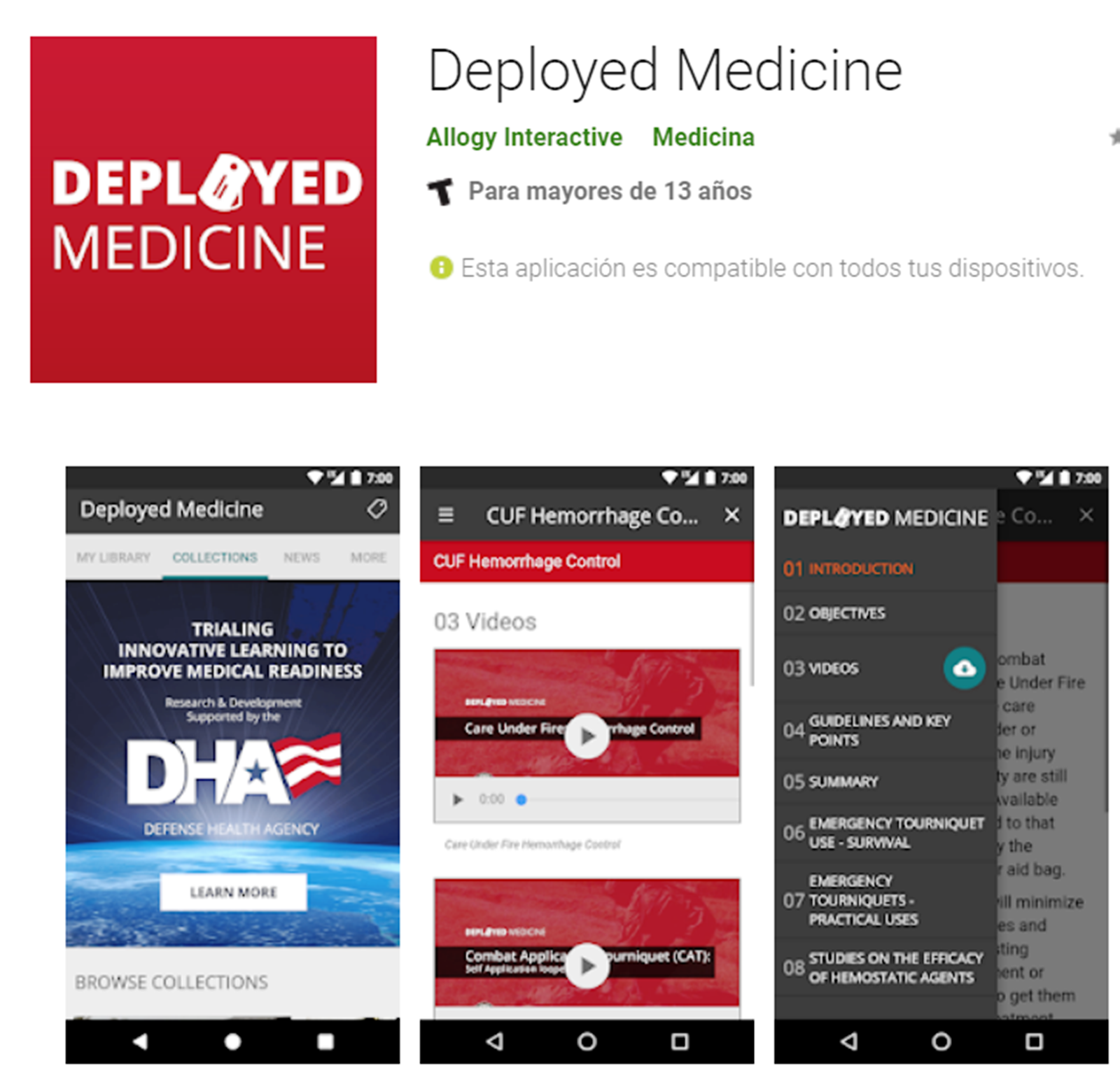 Deployed Medicine  Android App